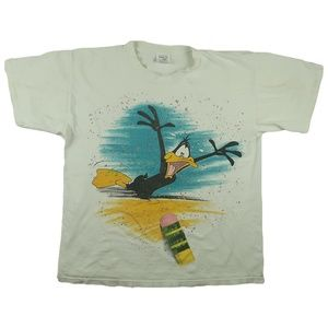 Other - Vintage 90s Daffy Duck Wild Oats T Shirt XL